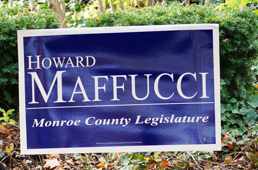 Howard Maffucci Campaign Yard Sign
