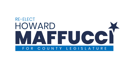 Re-Elect Howard Maffucci for County Legislature Logo